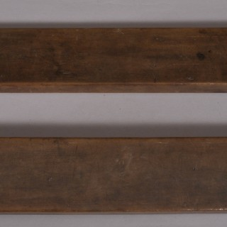 Antique Treen 19th Century Fruitwood Confectionery Mould