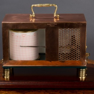 Edwardian Copper Thermograph by Short & Mason, London