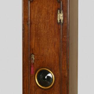 George III Oak Cased Single Handed Longcase Clock by Francis Whitton, Norwell