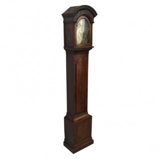 George I Style Longcase Clock by A Wilson, Edinburgh