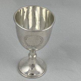 A Sterling Silver goblet made in 1969 by Alexander Smith of Birmingham