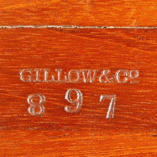 A Shaped Centre Table by Gillows