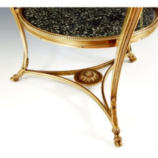 Lapis Spartanus Grecian Porphyry & Imperial Egyptian Porphyry centre table