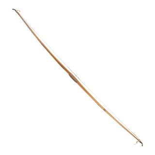 Antique Archery Longbow In Yew Wood By Thomas Aldred