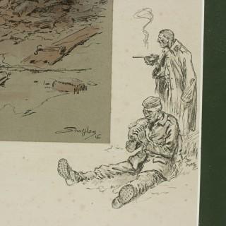 Snaffles Wwi Military Print, Jock (K.I)