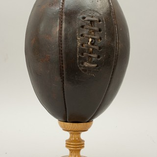 Antique Six Panel Rugby Ball