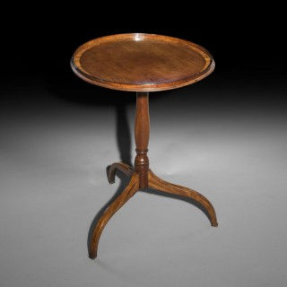 Small George III Circular Table or Kettle Stand
