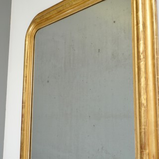 Gilded Louis Phillippe Mirror