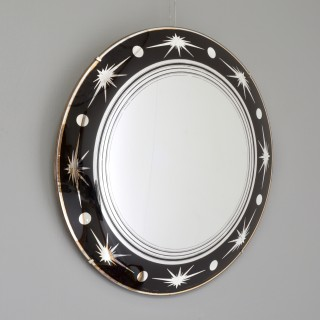 Small convex mirror