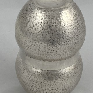 A rare pair of Sterling Silver 'Hob Nob' beakers /tumblers 1921 London.