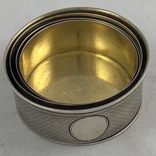 Antique Sterling Silver early Victorian collapsible Beaker 1860 Thomas Johnson of London.