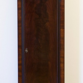 Small Georgian Mahogany Longcase clock by John Paine, Brentford