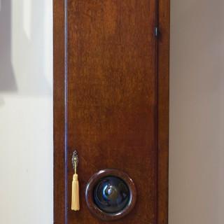 Queen Anne Oak Cased Longcase Clock by Joseph Davies, Ratcliffe Highway