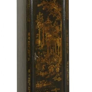 George I Lacquered Longcase Clock bu Peregrine Tawney, London