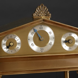 Congreve Rolling Ball Clock by Thwaites and Reed, London. No.49