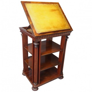 George IV Folio Table / Folio Cabinet