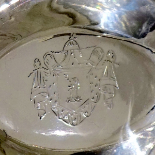 George III Sterling Silver Sweet Meat Basket London 1792 Duncan Urquhart & Naphtali Hart