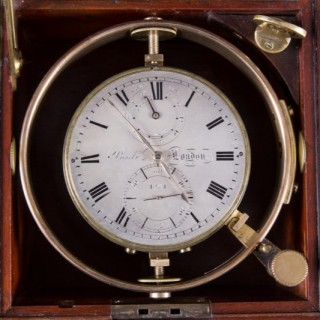 Two Day Marine Chronometer by John Poole, London. No.1064