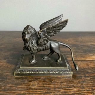 Bronze St Marks winged lion of Venice