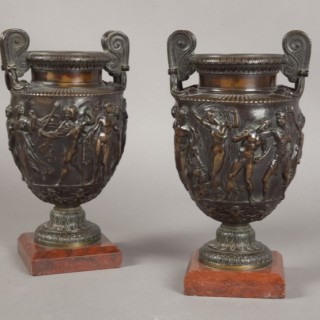 Pair of Grand Tour  Urns