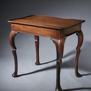 An important early 18th century Irish silver table, circa 1730