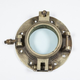 Brass Ship's Porthole