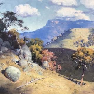 'Cloud Shadows, Kanimbla' by Warwick Fuller (born 1948)