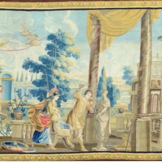 Pygmalion. A 17th century Antwerp tapestry