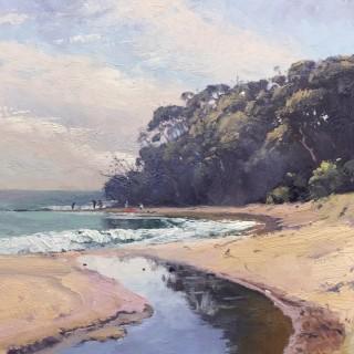 'Headland, Mollymook' by Warwick Fuller (born 1948)