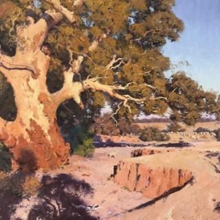 'Gold in the Gully, Eldee Creek' by Warwick Fuller (born 1948)