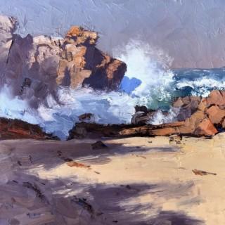 'Ephemeral Shadow, Mystery Bay' by Warwick Fuller (born 1948)