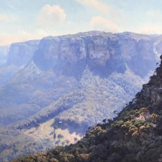 'Mountain Air, Wolgan Valley' by Warwick Fuller (born 1948)
