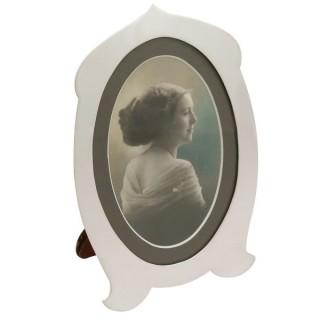 Sterling Silver Photograph Frame - Antique George V (1910)