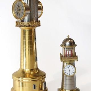Guilmet Lighthouse Clock Automaton, Duplex escapement