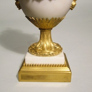 A Fine Pair of Urns in the Louis XVIth Manner Signed by Eugene Bazart of Paris