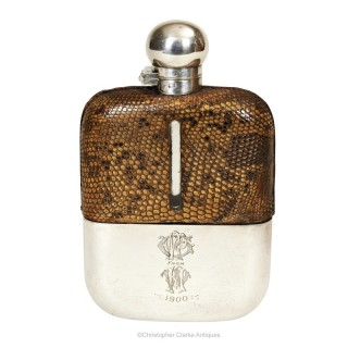 Lizard Hip Flask by Dixon & Sons