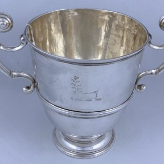 Antique George I Silver Irish Cup 1717 William Bell of Dublin