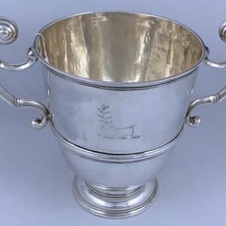 Antique George I Silver Irish Cup 1717 William Bell of Dublin