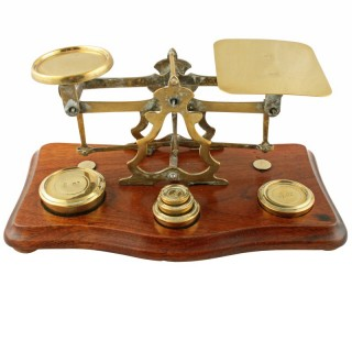 Set of Brass Postal Scales