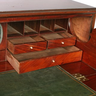 Georgian Mahogany Secretaire Chest