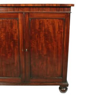 Georgian Gillows Two Door Cabinet
