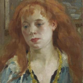'A Fin de siècle Beauty' by Henri Joseph Thomas (1878-1972)