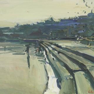 'On the Ghats, Pushkar, Rajasthan' by Luke Martineau (born 1970)