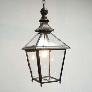 Glazed Copper Lantern
