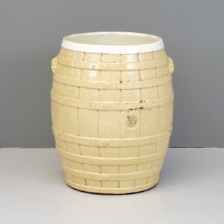 Pottery barrel