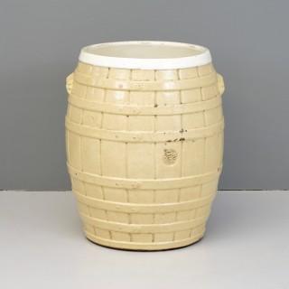 Pottery barrel
