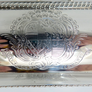 Sterling Silver George III Pair Entrée Dishes London 1809 Robert Garrard