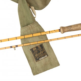 Hardy Fly Fishing Split Cane Rod. The Victor No.2 Palakona.