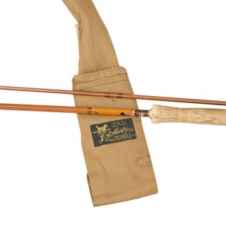 The Scottie, Split Cane Trout Fly Fishing Rod. A 2 Piece 9Ft Rod With Cork Handle.