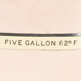 5 GALLON CHEKPUMP measure, circa 1930